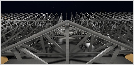 MWF Pro Truss can automate the placement and arrangement of a virtually limitless number of truss systems and styles in Revit